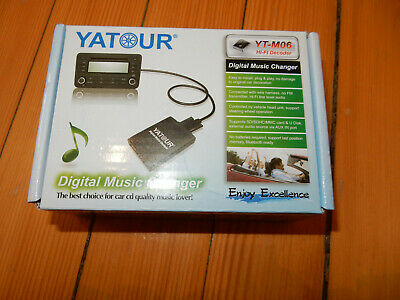 Yatour Bluetooth Adapter Musik Freisprechfunktion E46 E39 E38 Business BM24 Rund