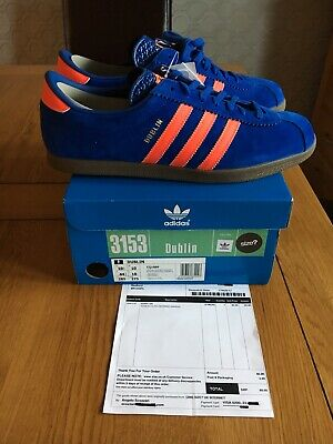 the latest 6ddbf 32e37 adidas Dublin Uk10 10 Koln Malmo Berlin Manchester Trimm Master Hamburg  Vintage