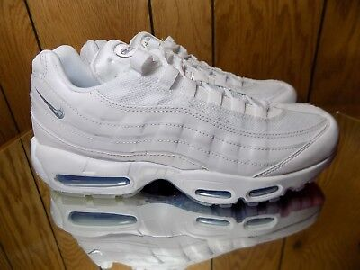 meet 1c599 aa1cc Nike Air Max 95 Usa Sz 8.5 White Photo Glacier Blue Metallic Silver Aq7981  100