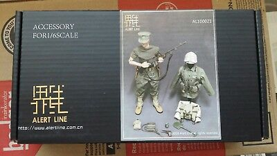 Alert Line 1//6 BAR Gunner WWII US Marine Corps Browning Automatic Rifle Model