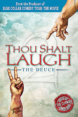 Thou Shalt Laugh 2 - The Deuce, Excellent DVD, Tim Conway, Thor Ramsey, Taylor M