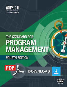 The Standard for Program Management – Fourth Edition PMI PMBOK - PDF