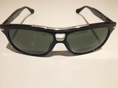 fac8c6051024 PERSOL Roadster Sunglasses 3009-S 95/31 58 TF black Limited Edition