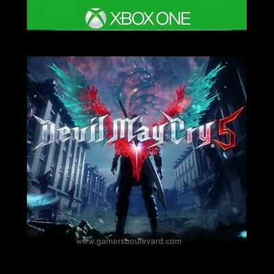 Devil may cry 5  for xbox one - No cd-- READ DESCRIPTION