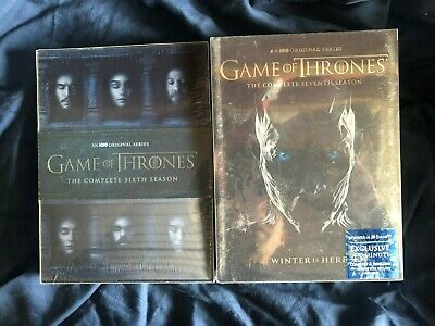 Game of Thrones: Season 6,7 DVD The Complete Sixth Seventh Seasons New