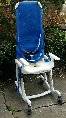 Incredible Rifton Blue Wave Toileting System E808 Special Needs Bralicious Painted Fabric Chair Ideas Braliciousco