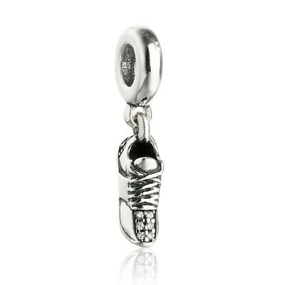 """Authentic Sterling-Silver """"Hard Work Pays Off"""" Graduation Dangle Charm 791892"""