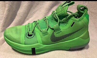 64a2e479ab39 NIKE KOBE AD Exodus Men s Basketball Shoes Green Strike Youth Size ...