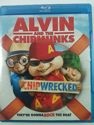 Alvin and the Chipmunks: Chipwrecked (Blu-Ray Disc, 2011)