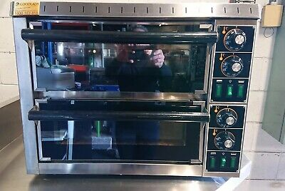 Unox Combi Humidification Convection Oven Commercial Bakery Restaurant And Hood
