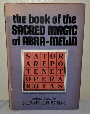 THE BOOK OF the Sacred Magic of Abra-Melin 1939 HC Grimoire