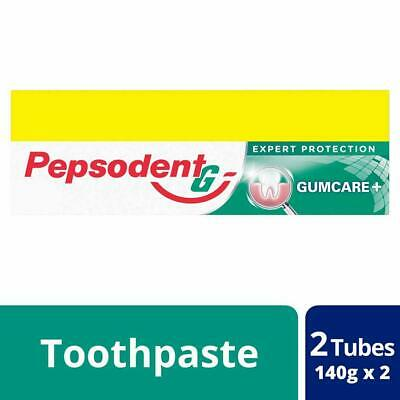 Pepsodent Expert Protection Gum Care Toothpaste, 2 x 140gm (Pack of 2 Tube)