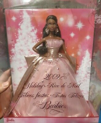 2009 Holiday Barbie 50th Anniversary Doll Collector Edition  New Unopened Box