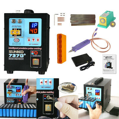 SUNKKO 737G+ 110V Spot Welder 4.3KW Spot Welding Machine For 18650 Batteries