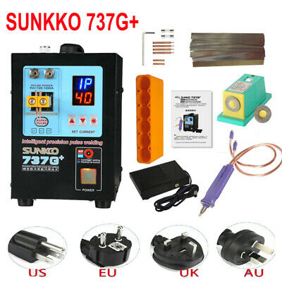 SUNKKO 737G+ 220V Spot Welder 4.3KW Spot Welding Machine For 18650 Batteries