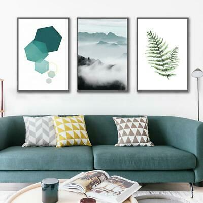 Abstract Landscape Geometry Canvas