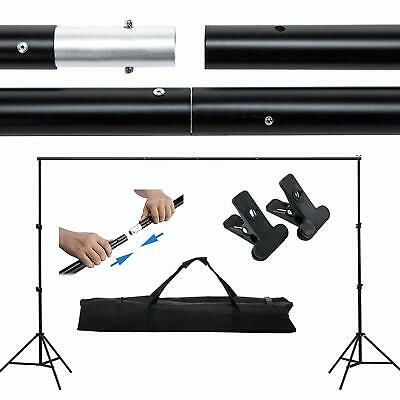 6.6x10ft Photo Backdrop Stand Adjustable Background Support Portable Photography
