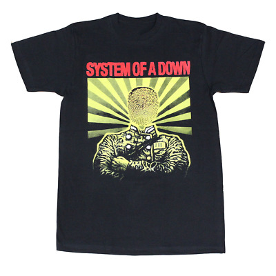 System of A Down Physigraphy Men's T-Shirt Black S-4XL K1058