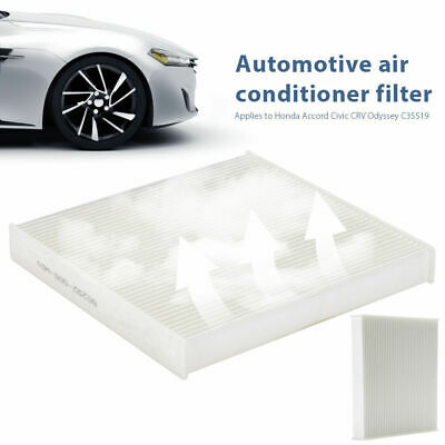 Cabin Air Filter White New for Honda Accord Civic CRV Legend Pilot 80292-SDA-A01