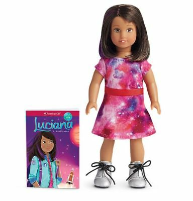 American Girl Luciana Mini Doll and Mini Book 6 inch doll NEW in BOX