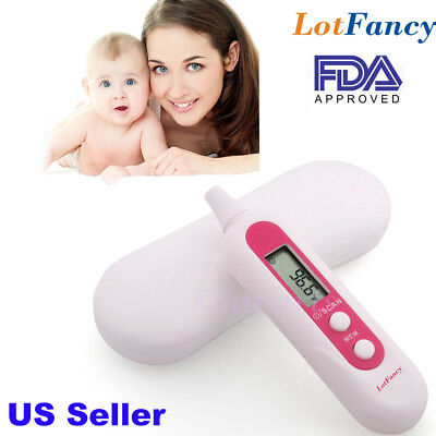 Electronic Digital LED Medical Fever Infrared IR Ear Thermometer Baby Adult FDA