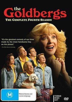 The Goldbergs : Season 4 (DVD, 3-Disc Set) NEW