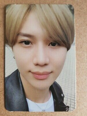 TAEMIN #1 Authentic Official PHOTOCARD [WANT] 2nd Mini Album SHINEE 태민