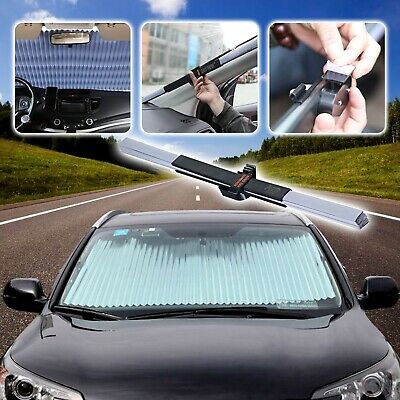 (Retractable Windshield) - AUTOPDR Universal Car Retractable Windshield