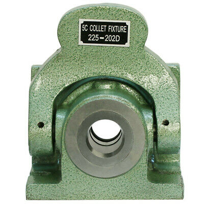 Heavy Duty 5C Collet Fixture Dead Length Chuck Vertical Horizontal