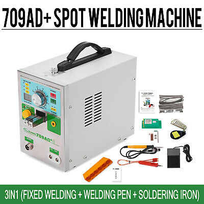 SUNKKO 709AD+ 110V Battery Spot Welder For 18650 Soldering Welding Machine