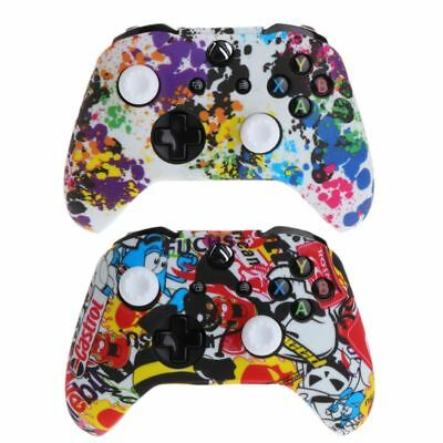 For XBox One X S Controller Popular Silicone Gamepad Cover   2 Joystick Caps