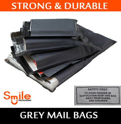 SP 100 Pack All Sizes Grey Mailing Bags Post Mail 6x9 9x12 10x14 12x16 17x24