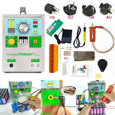 SUNKKO 220V 709AD+ Battery Spot Welder For 18650 Soldering Welding Machine