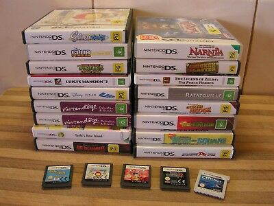 DS & 3DS Games Yoshi, Spyro, Robots, Zelda Tri Force, Catz, Nintendogs, U Pick 1