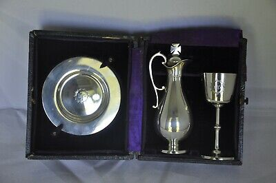 Communion Set Solid Silver 1896