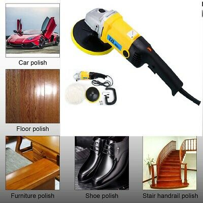 "1200W 6"" Car Power Polisher Buffer Waxer Sander Waxing Polishing Buffing Machine"