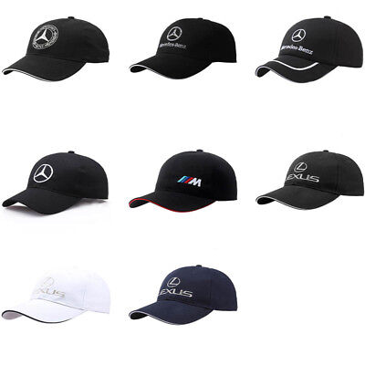 2019 Car Logo Baseball Cap Hat For Mercedes Benz BMW Lexus Fashion Unisex Hat