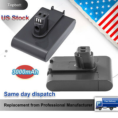 3.0Ah Li-ion Replace for Dyson 22.2V Battery DC31 DC34 DC35 TypeA Vacuum Cleaner