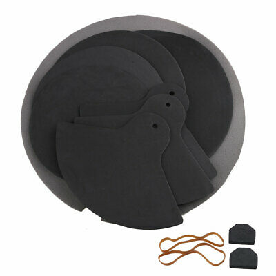 Jazz Drum off Mute Silencer Drumming Rubber Foam Practice Pad Sound Absorber