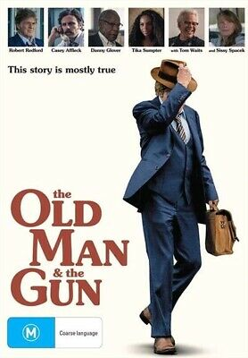 The Old Man And The Gun : NEW DVD
