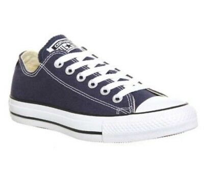 Boys/Girls Designer Converse All Star Blue Low Top Trainer UK Kids 2 BNIB