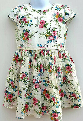 Baby Girls Floral Dress Capped Sleeve Ex N*XT Age 12 18 24 Months 2 3 4 5 Years