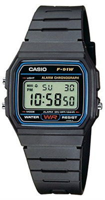 Fashion-Casio F-91W-1YEF Men`s Resin Digital Watch /Watch GAME NUOVO