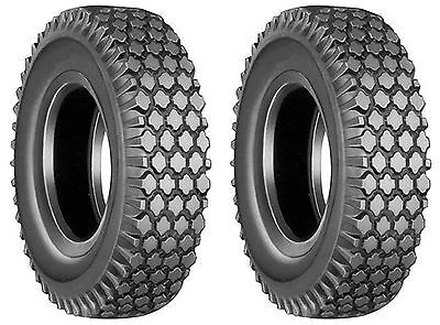 SETOF4  410//350-6 4.10//3.50-6 4.10//3.50x6 4 Ply Rated Sawtooth Tires Heavy Duty