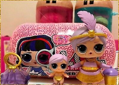 LOL Surprise Dolls BIG+THE LIL GREAT BABY Under Wraps Series 4 SISTERS Rare Lot!
