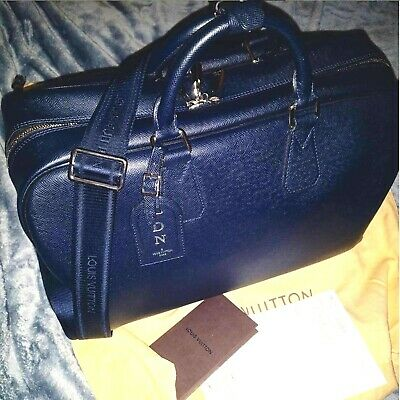 Louis Vuitton Neo Kendall 2013 Leather Mens Bag Barely Used Boreal Taiga + Lock
