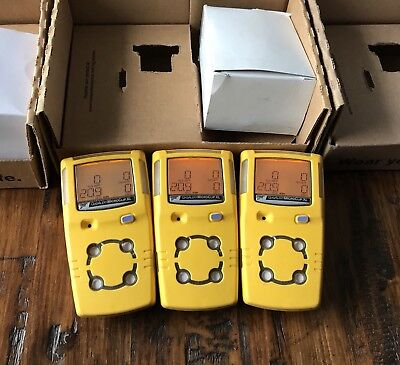 BW Gas Alert MicroClip XL Multi gas Monitor Detector H2S,LEL,CO,O2 Calibrated
