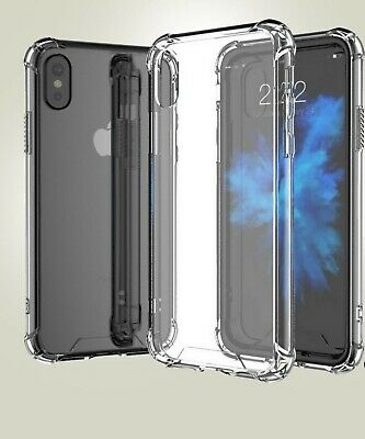 Case for iPhone 6 6s 5 5s SE 7 8 Plus ShockProof Soft Phone Cover TPU Silicone