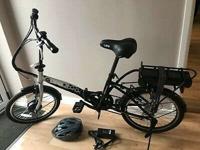 "E-Life royale Fully Folding Electric Bike 36V 250w 20"" Wheel front controller"