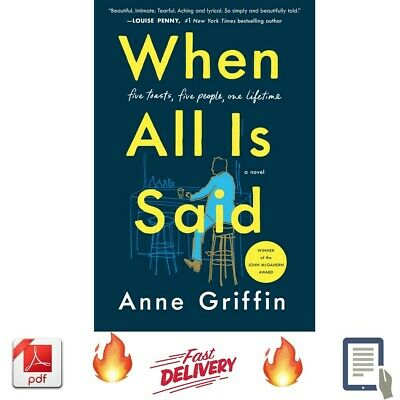 When All Is Said by Anne Griffin 2019 [ E-B00K, PDF, EPUB, Kindle ]